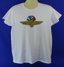 New Indianapolis Motor Speedway Collector White T-Shirt Indy 500 Brickyard 400