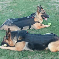 Tactical Outdoor Military Dog Clothes Load Bearing Training Vest Harness NU