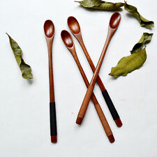 2 x natural wooden spoon,Japanese Phoebe Wood Bamboo Spoon Coffee Dessert Spoon