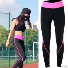 Women Sports Gym Apparel Yoga Running Fitness Leggings Pants suit Trousers S542