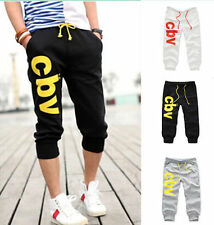 2016 Casual Men's Trousers Sport Shorts Pants Gym Cotton Jogging