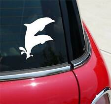 DOLPHINS DUAL PORPOISE DOLPHIN GRAPHIC DECAL STICKER ART CAR WALL DECOR