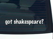 got shakespeare? FAMILY TREE REUNION LAST NAME SURNAME DECAL STICKER CAR WALL