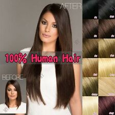 20inch Keratin Fashionstyle U/Nail Tip Remy Pre Bonded Human Hair Extensions II6