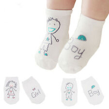 hot Baby Newborn Infant Cotton Boy Girl Toddler Asymmetry Anti-Slip Floor Socks
