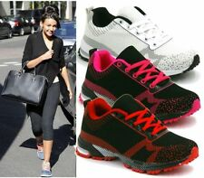 LADIES WOMENS TRAINERS GYM JOGGING SPORTS RUNNING CASUAL FITNESS SHOES SIZE