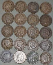 Indian Cent Lot of 20 Coins