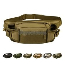 Nylon Outdoor Military Tactical Shoulder Chest Waist Bag Fanny Pack Bottle Pouch