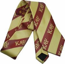 Kappa Alpha Psi Striped Mens Neck Tie