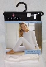 Cuddl Duds Softwear Warm Layers Ivory Legging New With Tag