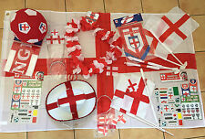 LARGE ENGLAND SUPPORTERS RUGBY OLYMPICS PACKS *STICKERS HATS CAR/HAND FLAGS etc