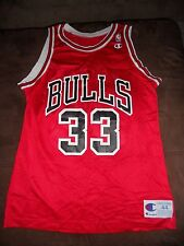 NICE CHAMPION SCOTTIE PIPPEN #33 CHICAGO BULLS ROAD JERSEY SIZE 44