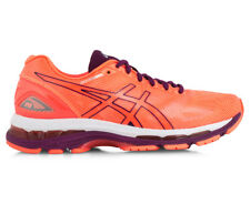 ASICS Women's GEL-Nimbus 19 Shoe - Flash Coral/Dark Purple/White