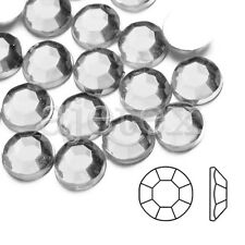 1000pcs Acrylic Crystal Flatback Rhinestones Phone Nail Art Decor White SS4-SS46
