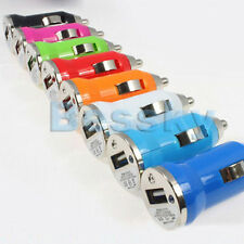 1PCS USB Car Charger Adapter for Apple iPhone iPod Nano Mini MP4 MP3 PDA Color