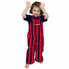 Game Bibs Toddler Overalls - Navy Blue/Red  - - NCAA