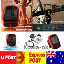 Multifunctional XC Shell Backlight Bike Bicycle Computer Odometer Pedometer htV