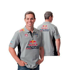 RED BULL RACING AUSTRALIA MENS TEAM POLO GREY NAVY LOWNDES SIZE SMALL & MED ONLY