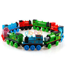 Mini Gift Handcrafted Child Toys Engine Train Thomas Friends Tank Carriages New