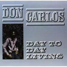 Day to Day Living [12 inch Analog] Don Carlos LP Record
