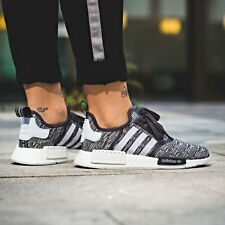 ADIDAS NMD R1 WOMENS RUNNER SHOES GREY WHITE CAMO SIZE 6-9 BY3035 BOOST ULTRA