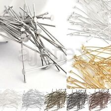 30g 21 Gauge Iron Head Pins Jewelry Making Findings Beading Crafts All Sizes