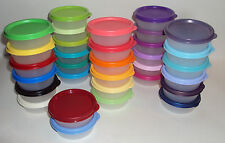 1 New Tupperware Half Snack Cup 2 oz Mini Bowl Container Seal Lid CHOICE Colors
