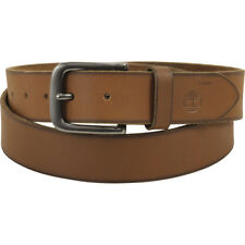 Timberland Men's Brown Genuine Leather Classic Jean Belt