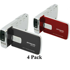 """4 Pack Polaroid ID1440 14MP 4x Zoom HD 1080p Camcorder with 2.7"""" LCD Screen"""