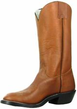 Olathe Western Boots Mens Leather Cowboy Nitrene Sole Brown 9050