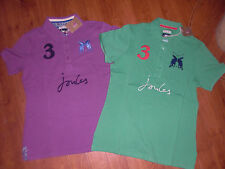 BNWT LADIES JOULES BEAUFORT CLASSIC FIT GREEN OR MAUVE POLO TOP SHIRT SIZE 10.