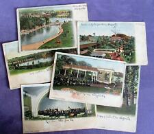 #8 Vintage Lot of 6 Willow Grove Park Postcards PA Unposted