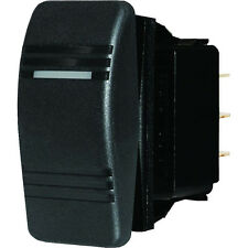 Blue Sea 8284 Water Resistant Contura Switch - Black Blu-8284