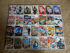 Nintendo Wii Games! You Choose from Large Selection!
