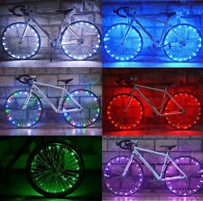 Cycling Cool Colors 20 LEDs Bicycle Safety Spoke Wheel Light Bike Accessories U8