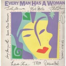 EVERY MAN HAS A WOMAN Various LP VINYL UK Polydor 1984 12 Track With Insert