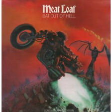 MEAT LOAF Bat Out Of Hell LP VINYL UK Epic 1977 7 Track With Lyric Insert