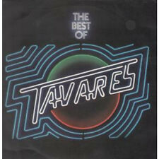 TAVARES Best Of LP VINYL UK Capitol 12 Track Sleeve Has Some Creasing