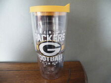 TERVIS 24 oz NFL GREEN BAY PACKERS Gridiron Wrap TUMBLER/Glass/Hot/Cold/NEW