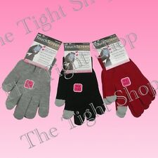 Ladies Touch Screen Gloves Innovative for IPhone IPad IPod PDA's Black