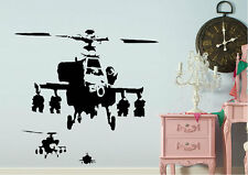 Banksy Wall Stickers Happy Chopper Vinyl Decal 15 Colours 00244