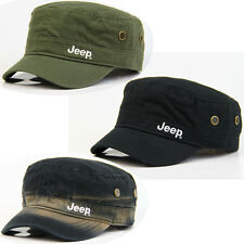 Embroidery Jeep Women Men Casual Sun Golf Tenni Baseball Adjustable Army Hat Cap