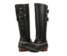 SOREL Slimpack Riding Tall II Boots 6.5 7 7.5 8 8.5 9 9.5 10.5 Black/Kettle Duck
