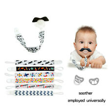 Kids Baby Chain Clip Holders Boy Girl Dummy Pacifier Soother Nipple Leash Strap