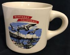 Monterey California Old Fishermans Wharf Coffee Cup Mug