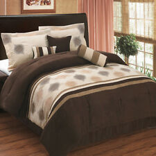 Grace Luxury 7PC Comforter Set, Includes Comforter, Skirt, Shams, and Pillows