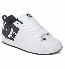 DC Skateboard Shoes COURT GRAFFIK S WHITE SMOOTH