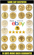 £1 Round One Pound Coin Complete Collection Capital Cities British Coins CLEAN