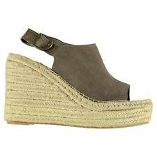 Jeffrey Campbell Womens JN017 Wedge Platform Open Toe Shoes Ankle Strap