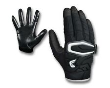 Cutters S60 The ShockSkin Gamer Football Gloves NEW Black ADULT Sizes